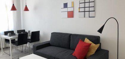 דירת 1.5 חדרים מוארת ויפהפייה
